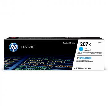 HP Toner-Kartusche cyan HC (W2211X, 207X)