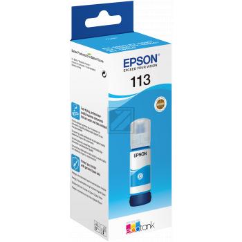 Epson Tintennachfüllfläschchen cyan (C13T06B240, 113)