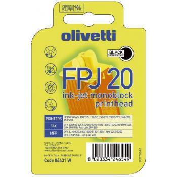 Olivetti B0384 | 84431 | FPJ20, Olivetti Monoblock, schwarz