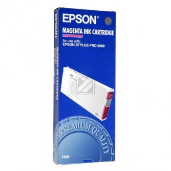 Original Epson C 13 T 409011 / T409 Tinte Magenta