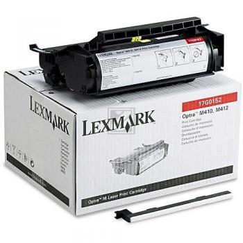 Lexmark 17G0152 | 5000 Seiten, Lexmark Tonerkassette, schwarz