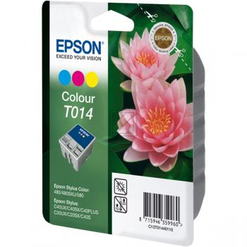 Original Epson C13T01440110 / T014 Tinte Color