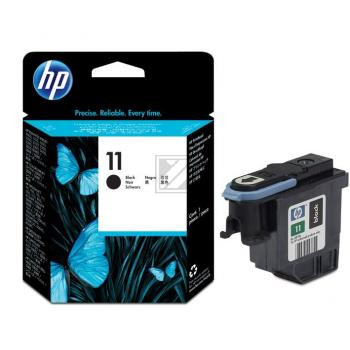 Hewlett Packard Tintendruckkopf schwarz (C4810A, 11)
