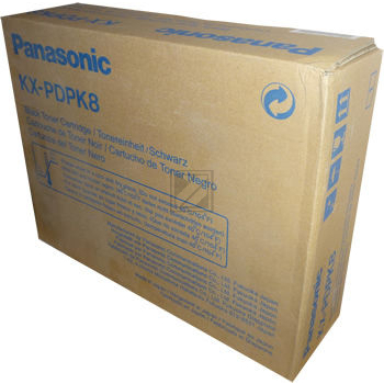 Panasonic KXPDPK8 | 12000 Seiten, Panasonic Tonerkassette, schwarz