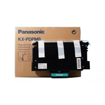 Panasonic KXPDPM8 | 10000 Seiten, Panasonic Tonerkassette, magenta