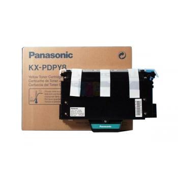 Panasonic KXPDPY8 | 10000 Seiten, Panasonic Tonerkassette, gelb