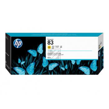 Original HP C4943A / Nr. 83 UV - Tinte Yellow