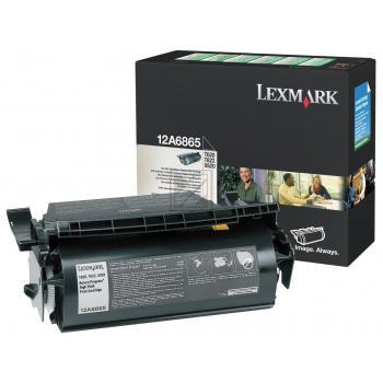 Lexmark Toner-Kartusche schwarz High-Capacity (12A6865)