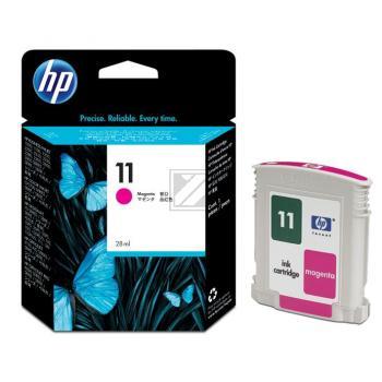 Hewlett Packard Tintenpatrone magenta High-Capacity (C4837AE, 11)
