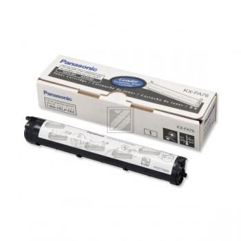 Panasonic KXFA76X | 2000 Seiten, Panasonic Tonerkassette, schwarz