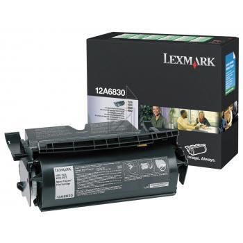 Lexmark Toner-Kartusche schwarz (12A6830)