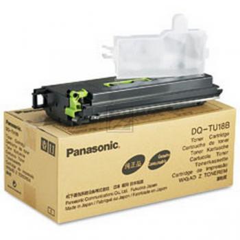 Panasonic DQTU18B | 18000 Seiten, Panasonic Tonerkassette, schwarz