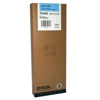 Epson Tintenpatrone cyan light HC (C13T544500, T5445)