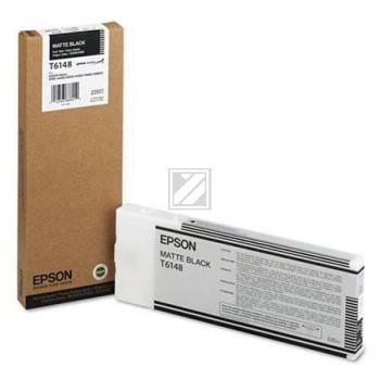 Epson Tintenpatrone schwarz matt High-Capacity (C13T614800, T6148)