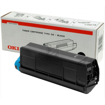 OKI Toner-Kit schwarz High-Capacity (42127408, TYPE-C6)