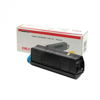 OKI Toner-Kit gelb High-Capacity (42127405, TYPE-C6)