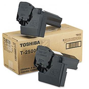 Toshiba T2500E | Combopack 2x 500g, Toshiba Tonerkit, schwarz