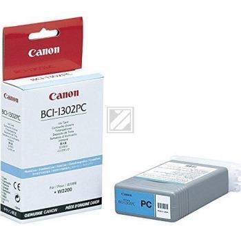 Original Canon 7721A001 / BCI-1302PC Tinte light Cyan