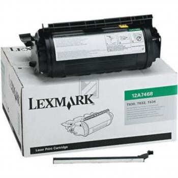 Lexmark Toner-Kartusche speziell für Etiketten schwarz (12A7468)