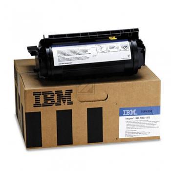 IBM Toner-Kartusche Prebate schwarz HC (75P4303) Qualitätsstufe: A