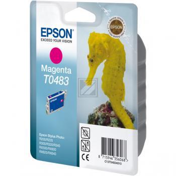 Epson Tintenpatrone magenta (C13T04834010, T0483)