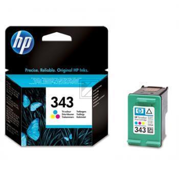 Hewlett Packard Tintendruckkopf cyan/gelb/magenta (C8766EE#UUS, 343)
