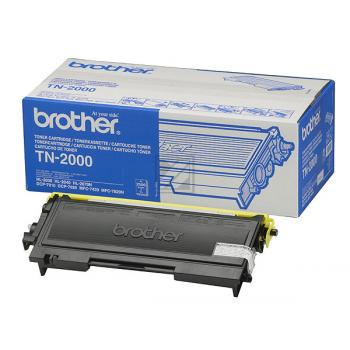 Brother Toner-Kit schwarz (TN-2000)