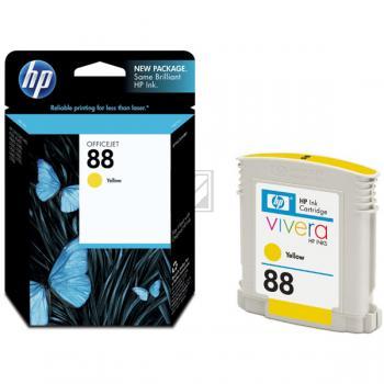 Hewlett Packard Tintenpatrone gelb (C9388AE, 88)
