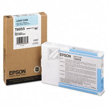 Epson Tintenpatrone Ultra Chrome K3 cyan light (C13T605500, T6055)