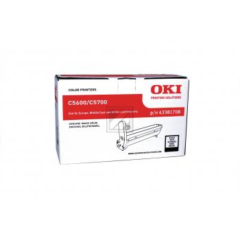OKI Fotoleitertrommel schwarz (43381708)