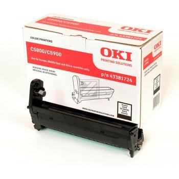 OKI Fotoleitertrommel schwarz (43381724)