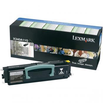 Lexmark Toner-Kartusche schwarz (X340A11G)
