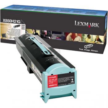 Lexmark X850H21G | 30000 Seiten, Lexmark Tonerkassette, schwarz