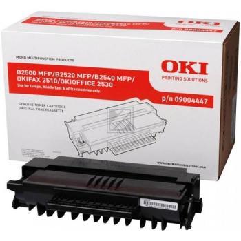 OKI 09004447   2200 Seiten, OKI Tonerkassette, schwarz
