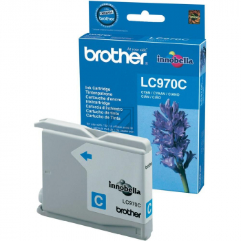 Brother Tintenpatrone cyan (LC-970C)