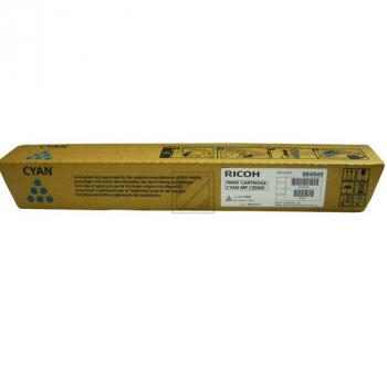 Original Ricoh 888643 / MP C3000 C Toner Cyan