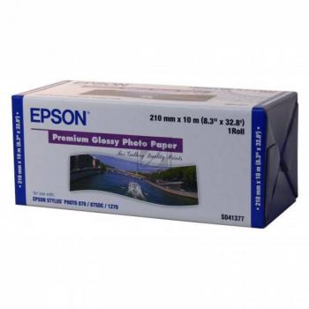 Epson Premium Glossy Photo Paper Roll weiß (C13S041377)