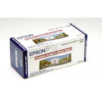 Epson Premium Semigloss Photo Paper Roll weiß (C13S041336)