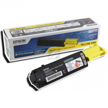 Epson Toner-Kartusche gelb High-Capacity (C13S050187, 0187)
