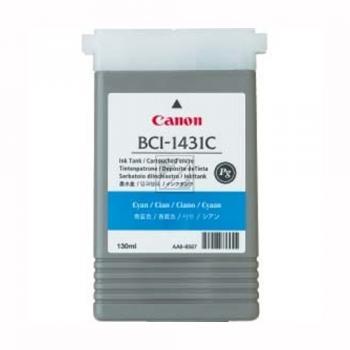 Canon Tintenpatrone Pigmentierte Tinte cyan (8970A001, BCI-1431C)