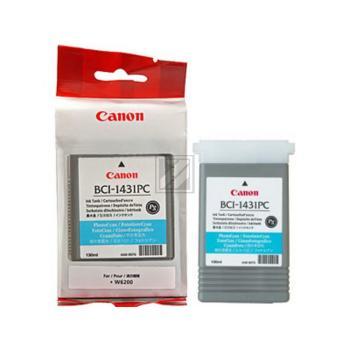 Canon Tintenpatrone Photo-Tinte Pigmentierte Tinte Photo cyan (8973A001, BCI-1431PC)