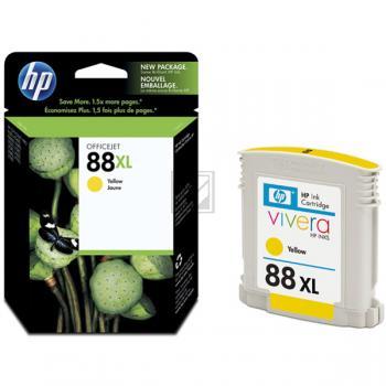 Hewlett Packard Tintenpatrone gelb High-Capacity (C9393AE, 88XL)