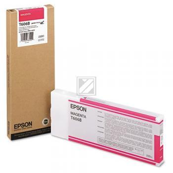 Epson Tintenpatrone magenta High-Capacity (C13T606B00, T606B)
