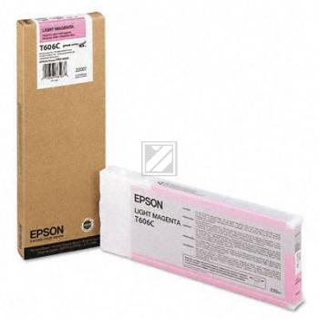 Epson Tintenpatrone magenta light High-Capacity (C13T606C00, T606C)