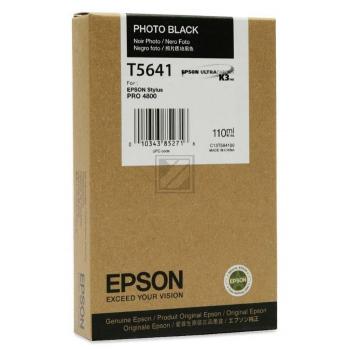 Original Epson C13T564100 / T5641 Tinte Black Foto