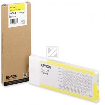 Epson Tintenpatrone gelb High-Capacity (C13T565400 C13T606400, T6064)