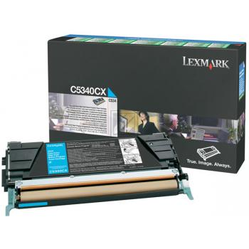 Lexmark Toner-Kartusche cyan High-Capacity plus (C5340CX)