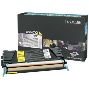 Lexmark Toner-Kartusche gelb High-Capacity plus (C5340YX)