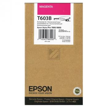 Epson Tintenpatrone magenta light High-Capacity (C13T563300 C13T603B00, T603B)
