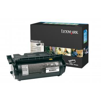 Lexmark Toner-Kartusche schwarz High-Capacity plus (X644X11E)